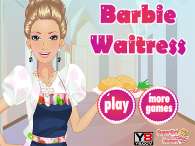 Barbie Waitress  -